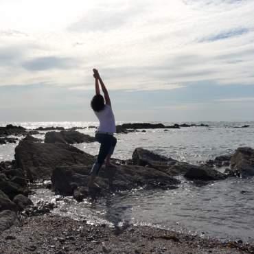 Samstagmorgen-Yoga